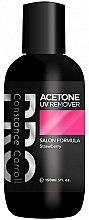 Düfte, Parfümerie und Kosmetik Nagellackentferner mit Erdbeerduft - Constance Carroll Aceton UV Remover Strawberry