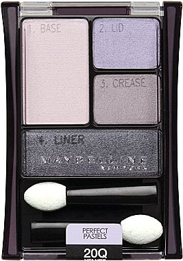 Lidschatten - Maybelline Expert Wear Perfect Pastels Eyeshadow Quads — Bild N1