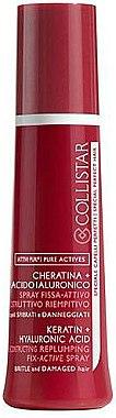 Revitalisierendes Haarspray mit Keratin und Hyaluronsäure - Collistar Pure Actives Fix-active Spray — Bild N1
