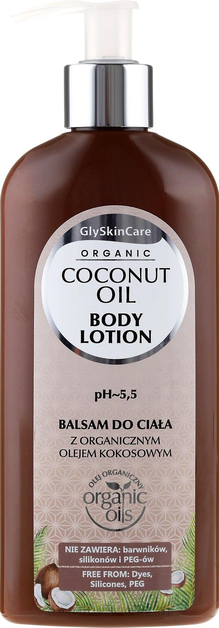 Körperlotion mit Bio Kokosöl - GlySkinCare Coconut Oil Body Lotion — Bild 250 ml