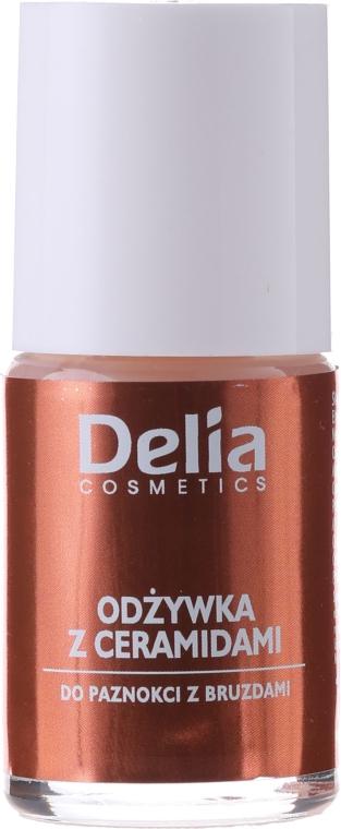 Nagelkonditionierer mit aktiven Ceramiden - Delia Cosmetics Active Ceramides Nail Conditioner — Bild N1
