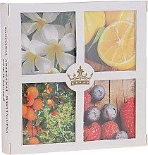 Düfte, Parfümerie und Kosmetik Naturseifen-Geschenkset - Essencias De Portugal Gift Set Senses Collection №4 (4x50g)