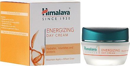 Pflegende, feuchtigkeitsspendende, energiespendende und schützende Tagescreme für das Gesicht - Himalaya Herbals Energizing Day Cream — Bild N2