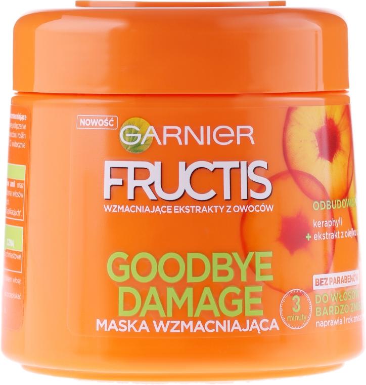 Kräftigende Maske für stark geschädigtes Haar - Garnier Fructis Goodbye Damage Mask — Bild N1