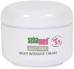 Düfte, Parfümerie und Kosmetik Feuchtigkeitsspendende und pflegende Nachtcreme - Sebamed Anti Dry Night Defence Cream