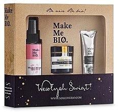 Düfte, Parfümerie und Kosmetik Pflegeset - Make Me BIO (Gesichtscreme/60ml + Rosenwasser/100ml + Handcreme/30ml)
