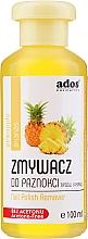 Düfte, Parfümerie und Kosmetik Nagellackentferner ohne Aceton Ananas - Ados Nail Polish Remover