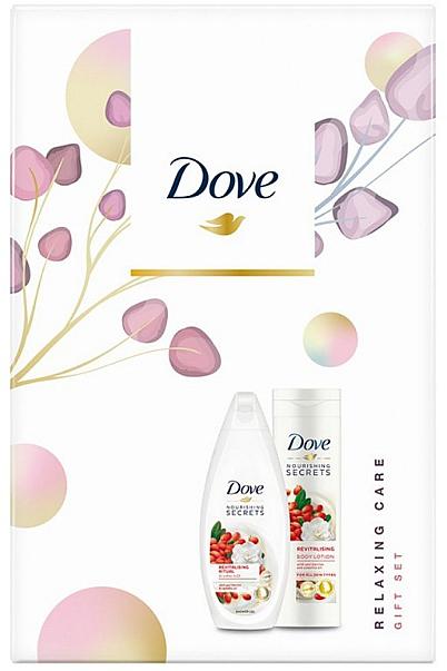 Körperpflegeset - Dove Relaxing Care (Duschgel 250ml + Körperlotion 250ml) — Bild N1