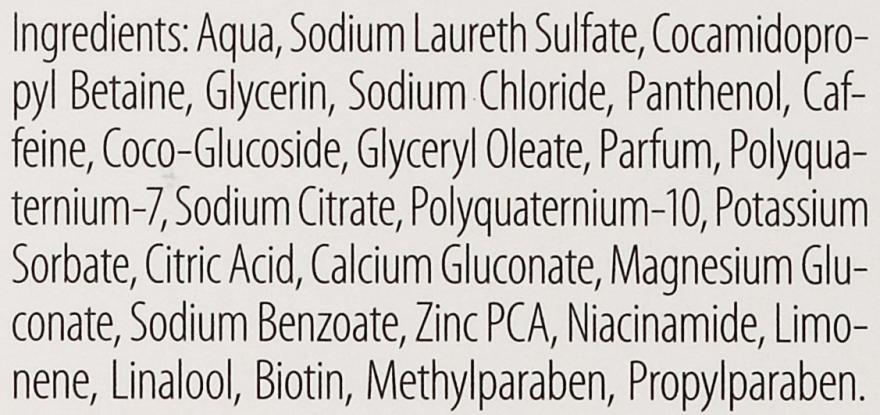 Nutri-Coffein-Shampoo bei magerem Haarwachstum für coloriertes und strapaziertes Haar - Plantur Nutri Coffein Shampoo — Bild N2