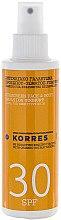 Düfte, Parfümerie und Kosmetik Yoghurt Sonnenemulsion für Gesicht und Körper LSF 30 - Korres Yoghurt Face and Body Sunscreen Emulsion SPF 30