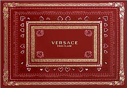 Versace Eros Flame - Duftset (Eau de Parfum 50ml + Duschgel 50ml + After Shave Balsam 50ml) — Bild N2