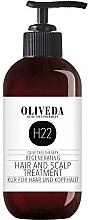 Düfte, Parfümerie und Kosmetik Regenerierende Kur für Haar und Kopfhaut - Oliveda H22 Hair and Scalp Treatment