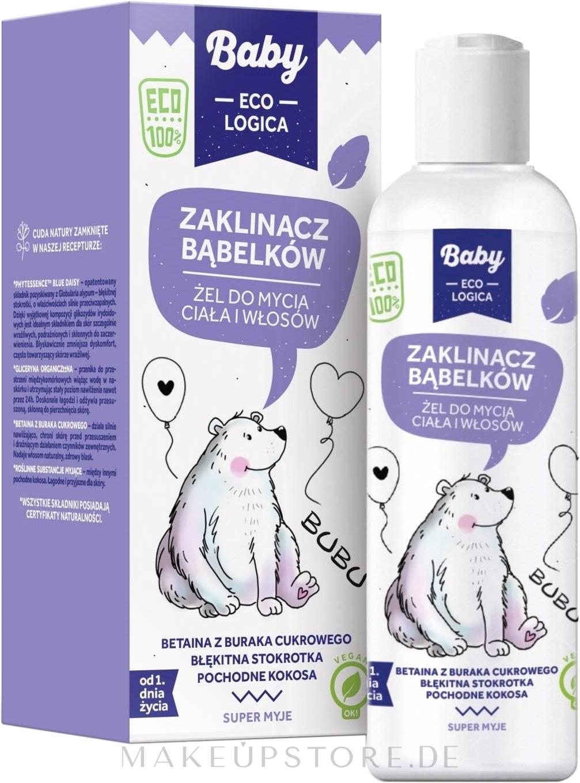 Duschgel für Körper und Haar - Baby EcoLogica Hair Body Wash Gel — Bild 150 ml