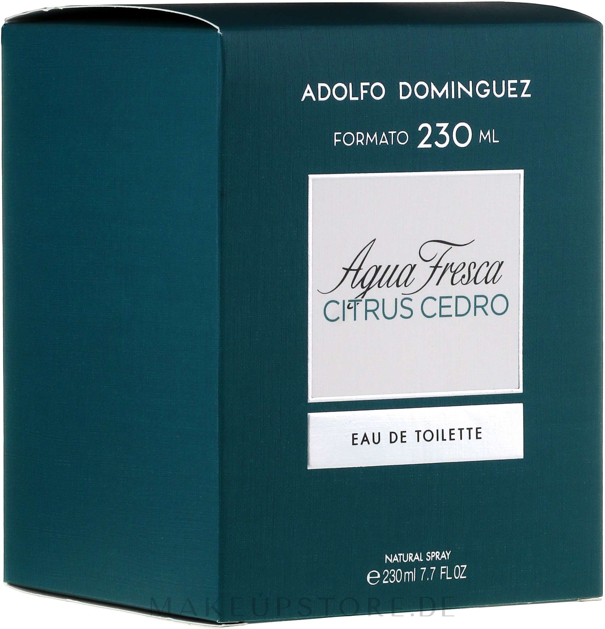Adolfo Dominguez Agua Fresca Citrus Cedro - Eau de Toilette — Bild 60 ml