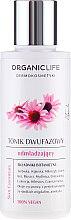 Düfte, Parfümerie und Kosmetik Verjüngendes 2-Phasen Gesichtswasser - Organic Life Dermocosmetics Skin Essentials