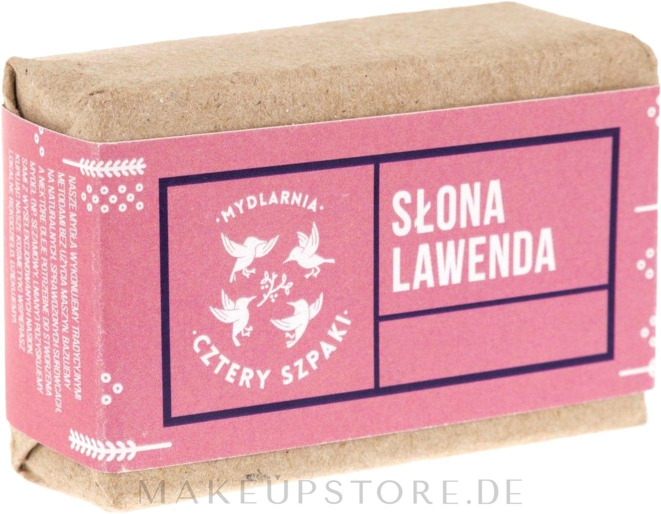Naturseife Lavendel - Cztery Szpaki Soap — Bild 110 g