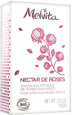 Parfümierte Körperseife - Melvita Nectar de Roses Soap — Bild N1