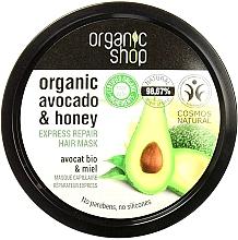 Düfte, Parfümerie und Kosmetik Avocado Honig Haarmaske - Organic Shop Organic Avocado and Honey Hair Mask