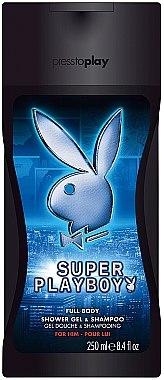 Playboy Super Playboy For Him - Duschgel — Bild N1