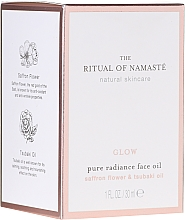 Düfte, Parfümerie und Kosmetik Anti-Aging Gesichtsöl mit Safranblüte und Lotosblume - Rituals The Ritual Of Namaste Glow Anti-Aging Face Oil