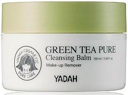 Düfte, Parfümerie und Kosmetik Gesichtsbalsam zur Make-up Entfernung mit grünem Tee - Yadah Green Tea Pure Cleansing Balm