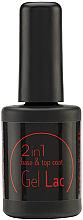 Düfte, Parfümerie und Kosmetik 2in1 Grundier- und Versiegelungsgel - Aden Cosmetics Base & Top Coat