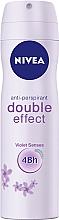 Deospray Antitranspirant - Nivea Double Effect Deodorant Spray — Bild N1