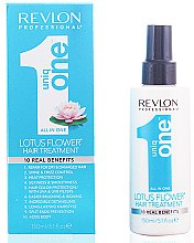 Düfte, Parfümerie und Kosmetik 10in1 Spraymaske für alle Haartypen mit Blumenduft - Revlon Revlon Professional Uniq One Lotus Flower Hair Treatment