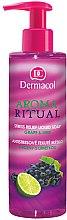 Düfte, Parfümerie und Kosmetik Flüssigseife Grape & Lime - Dermacol Aroma Ritual Liquid Soap Grape&Lime