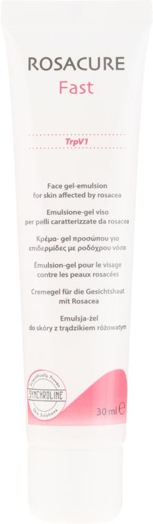 Cremegel für die Gesichtshaut mit Rosacea - Synchroline Rosacure Fast — Bild N2