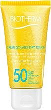 Düfte, Parfümerie und Kosmetik Sonnenschutzcreme für das Gesicht - Biotherm Sun Protection Creme Solaire Dry Touch SPF 50
