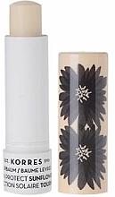 Düfte, Parfümerie und Kosmetik Lippenbalsam Sonnenblume SPF 20 - Korres Lip Balm Sun Protect SPF20 Sunflower