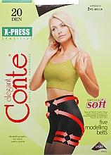 Düfte, Parfümerie und Kosmetik Strumpfhose für Damen X-Press 20 Den Mocca - Conte