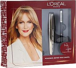 Düfte, Parfümerie und Kosmetik Make-up Set (Mascara 10.7ml + Eyeliner 7g) - L'Oreal Paris