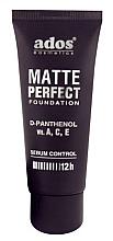 Düfte, Parfümerie und Kosmetik Mattierende Foundation mit D-Panthenol und Vitamin A, C, E - Ados Matte Perfect Foundation