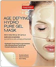 Düfte, Parfümerie und Kosmetik Anti-Aging Gesichtsmaske - Purederm Age Defying Hydro Pure Gel Mask