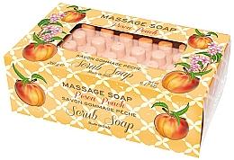 Düfte, Parfümerie und Kosmetik Massage-Peelingseife Pfirsich - Gori 1919 Massage Scrub Soap Peach