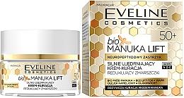 Straffende Anti-Falten Gesichtscreme mit Manuka-Honig - Eveline Cosmetics Bio Manuka Bee Lift-tox 50+ — Bild N1