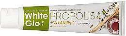 Düfte, Parfümerie und Kosmetik Aufhellende Zahnpasta mit Propolis und Vitamin C - White Glo Propolis plus Vitamin C Toothpaste