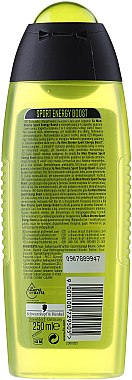 Duschgel - Fa Man Xtreme Energy Boost 3in1 Shower Gel — Bild N2