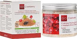 Düfte, Parfümerie und Kosmetik Zucker-Körperpeeling mit Sheabutter und Moosbeere - GoCranberry