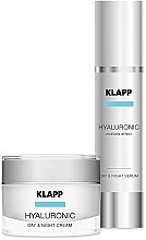 Düfte, Parfümerie und Kosmetik Klapp Hyaluronic Face Care Set - Gesichtspflegeset mit Hyaluronsäure (Gesichtscreme 50ml + Gesichtsserum 50ml)