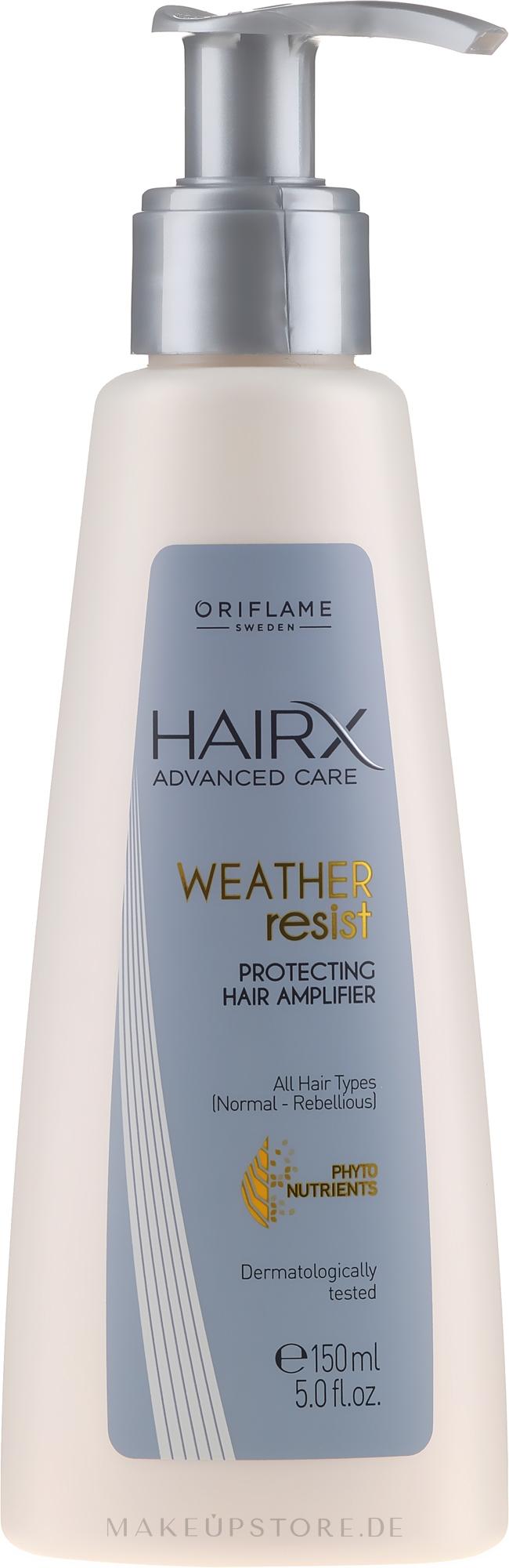 Schützender Haarverstärker für alle Haartypen - Oriflame HairX Protecting Hair Amplifier — Bild 150 ml