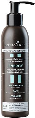 Tonisierendes Massageöl Energy mit Minze, Limette und Birne - Botavikos Energy Massage Oil — Bild N1