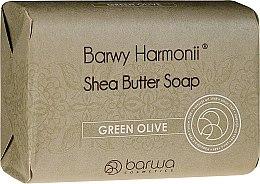 Düfte, Parfümerie und Kosmetik Sheabutter Seife mit Olivenöl - Barwa Harmony Green Olive Soap