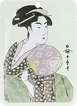 Düfte, Parfümerie und Kosmetik Tuchmaske für das Gesicht mit Gelée Royale und japanischer Kirschblüte - Mitomo Royal Jelly Cherry Blossom Facial Essence Mask