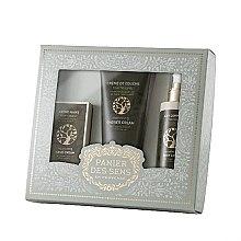Düfte, Parfümerie und Kosmetik Set - Panier Des Sens Oliva (sh/gel/200ml + b/lot/200ml + hand/cr/75ml)