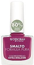 Düfte, Parfümerie und Kosmetik Nagellack - Deborah Formula Pura Nail Enamel