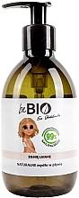 Düfte, Parfümerie und Kosmetik Natürliche Flüssigseife mit Leinsamen - BeBio Natural Liquid Soap Flax Seeds