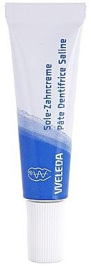 Schützende Sole-Zahncreme gegen Neubildung von Karies und Zahnstein - Weleda Sole Zahncreme — Bild N4
